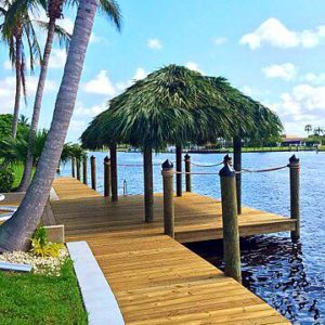 New Dock and Tiki Construction SW Florida